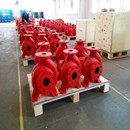 6 sets fire fighting pump to Colombia